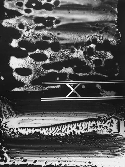 Gyorgy Kepes, 'Untitled photogram', 1982, Robert Klein Gallery