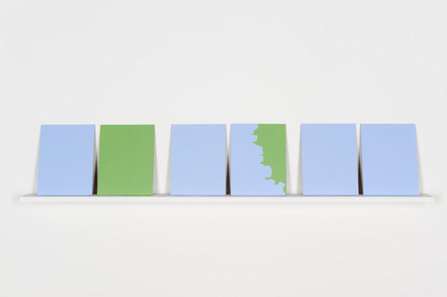 , 'Casa pintada igual que la del vecino (Ejercicio pictórico),' 2013, Galerie Peter Kilchmann