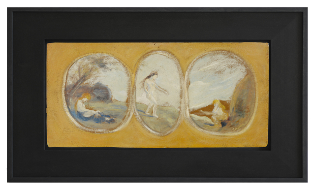 , 'Three Nudes,' 1909-1913, Kunsthalle Marcel Duchamp | The Forestay Museum of Art
