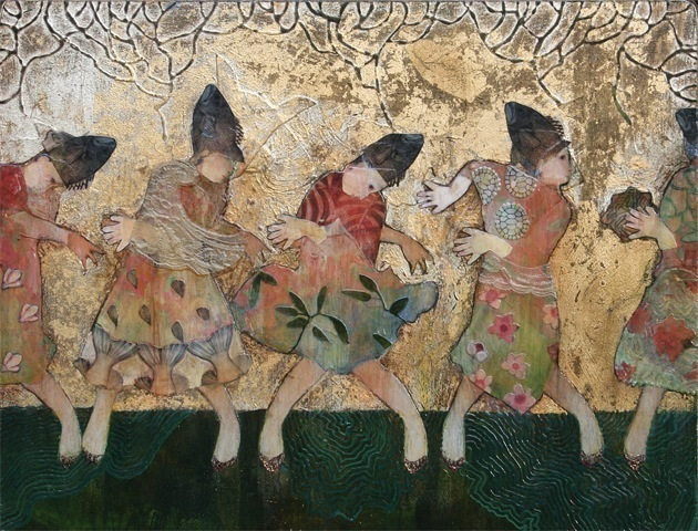, 'The Fish Head Dance,' 2013, Susan Eley Fine Art