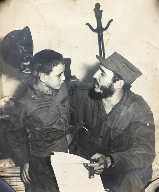 , 'Fidel and Boy (Signed by Fidel Castro),' ca. 1960, Rebekah Jacob Gallery