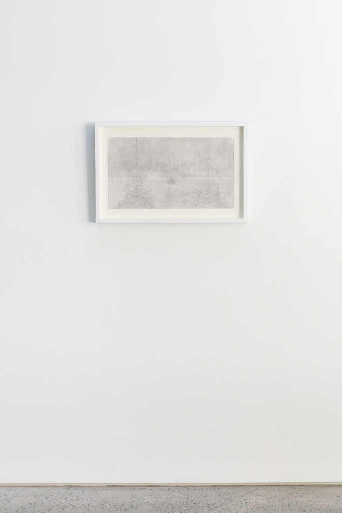 Seung Ae Lee, Becoming (Master Drawing), 2017, pencil on paper, 42h x 59.4w cm, installation view