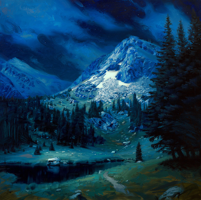 , 'Alpine Evening,' 2019, Abend Gallery