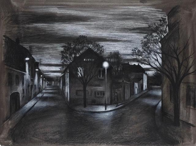 , 'Au point de la nuit (study),' , Hugo Galerie