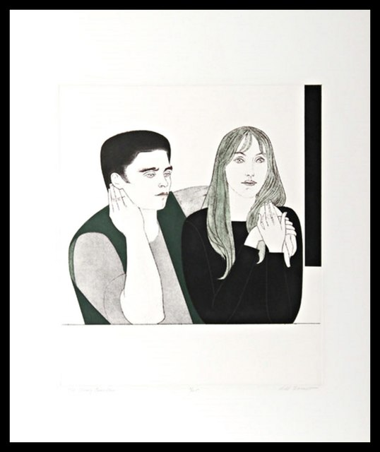 Will Barnet, 'The Young Couple (Cole 141)', 1971, Alpha 137 Gallery
