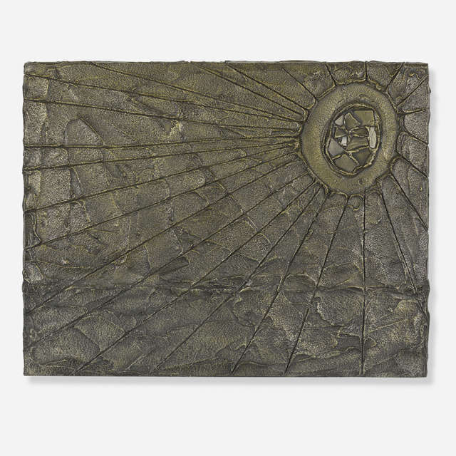Paul Evans, 'Untitled (wall plaque)', c. 1965, Wright