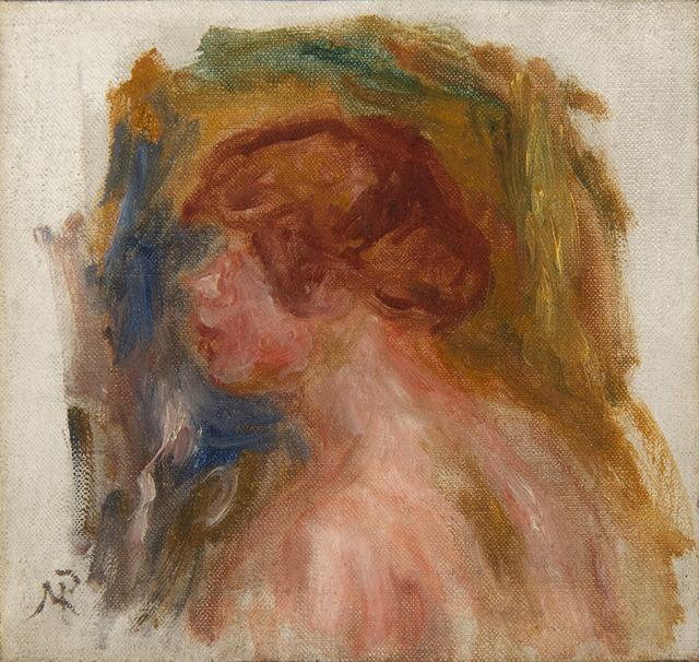 Pierre-Auguste Renoir, 'Buste de jeune femme', Unknown, HELENE BAILLY GALLERY