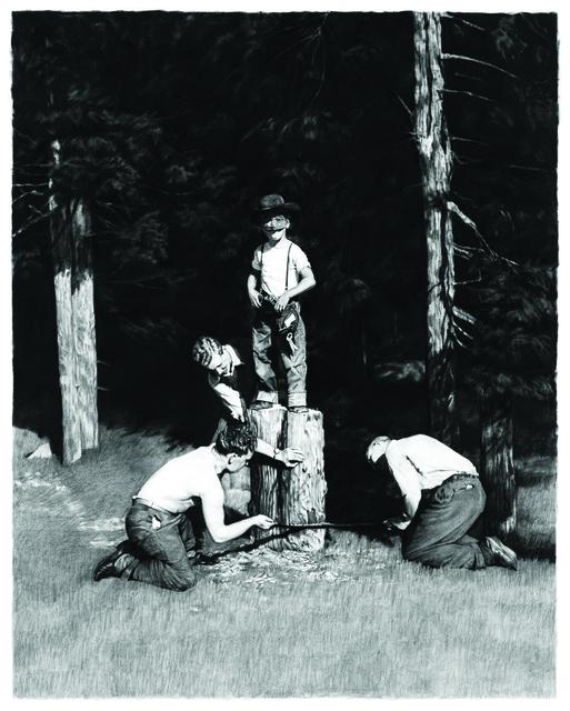 Scott Hunt, 'Timber', 2014, Wilding Cran Gallery