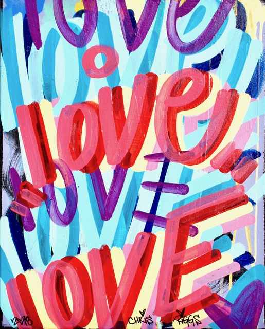 , 'Love Canvas 11,' 2018, Open Mind Art Space