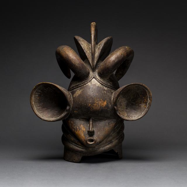 Unknown African, 'Gola Wooden Helmet Mask', 20th Century AD, Barakat Gallery