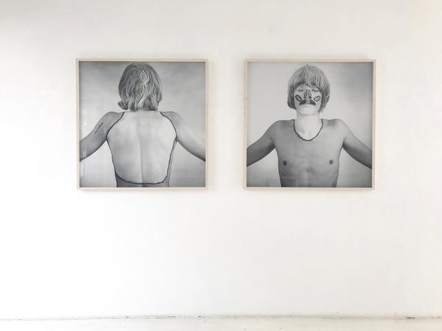 , 'DIE WEIßEN FLECKEN MEINER KÖRPERLANDSCHAFT /  THE WHITE SPOTS OF MY BODY LANDSCAPE,' 1968, Brigitte March International Contemporary Art