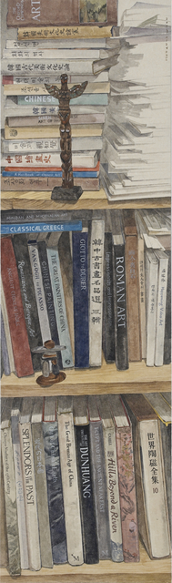 , 'Pile of books I,' 2013, Artflow