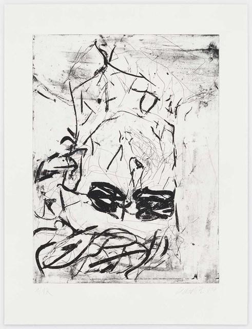 , 'Rauschenberg (Black),' 2018, Alan Cristea Gallery