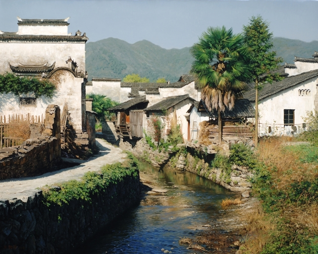 , 'River in the Village,' 2014, Odon Wagner Contemporary