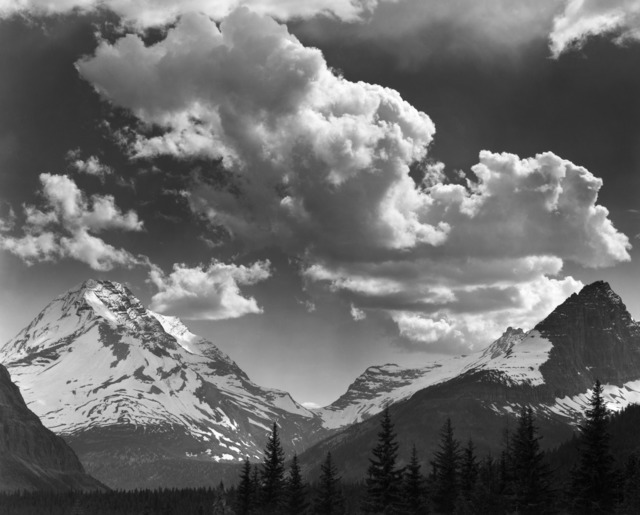 , 'Noon Clouds, Glacier National Park, Montana,' 1942, The Ansel Adams Gallery