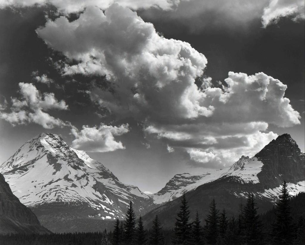 Noon Clouds, Glacier National Park, Montana
