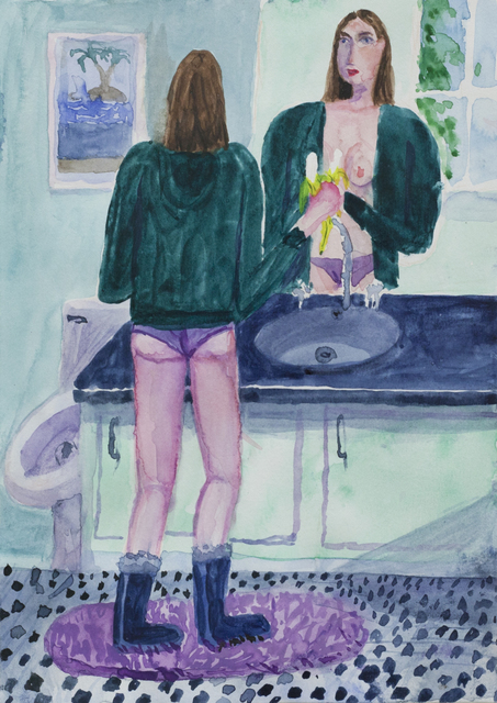 , 'Banana Breakfast,' 2017, Galleri Magnus Karlsson