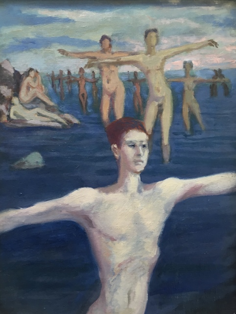 Alvin Ross, 'Study for Exercise at the Beach', Mid 20th c., Bakker Gallery