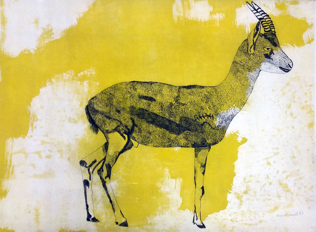 , 'Palestinian Gazelle 2,' 2016, Gallery One