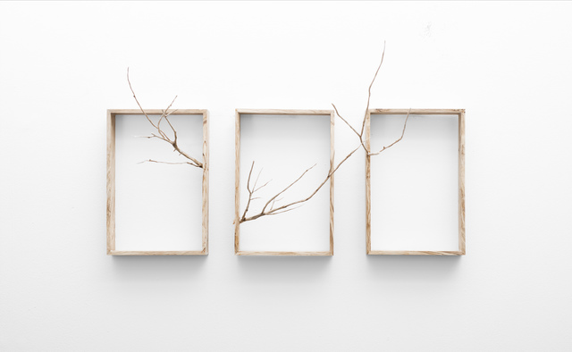 , 'Reach (Triptych),' 2017, SMAC ART GALLERY