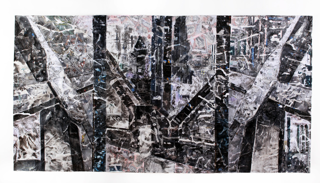 Margaret Lawless, 'Capital Structure (framed)', 2017, Michael Warren Contemporary