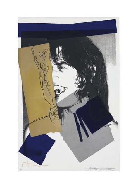 Andy Warhol, 'Mick Jagger: one plate', 1972, Christie's