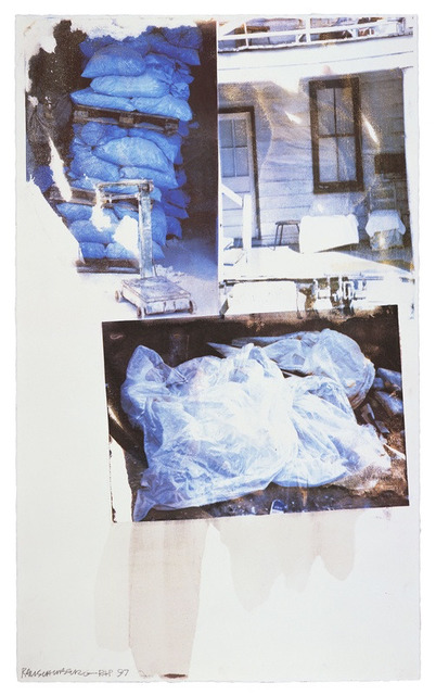 Robert Rauschenberg, 'Daydream (Speculations)', 1997, Upsilon Gallery