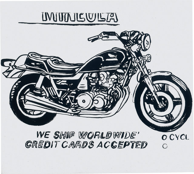 Andy Warhol, 'Mineola Motorcycle (positive)', 1985-86, Phillips