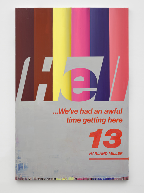 , 'Hell... We've Had an Awful Time Getting Here 13,' 2017, White Cube