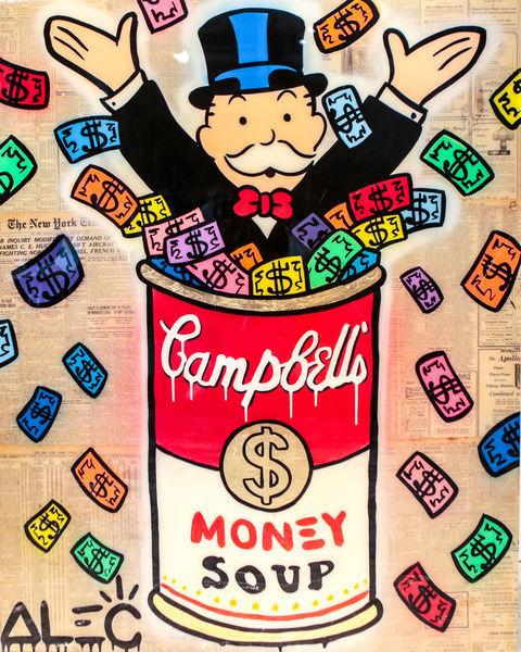 , 'Monopoly Campbell's Soup - Colorful Money,' 2017, Eden Fine Art