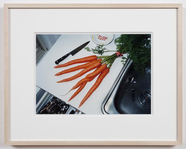 Mona Hatoum, 'A bunch of carrots (New York)', 2001-2002, Photography, C-print, Alexander and Bonin
