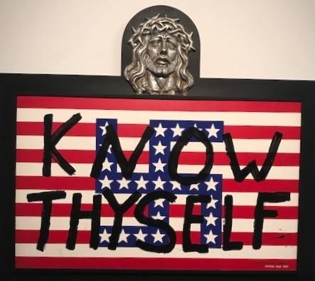 Forrest Prince, 'Know Thyself', 1991, Installation, Mixed Media Print, Deborah Colton Gallery