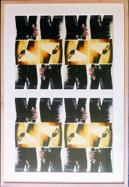 Andy Warhol, 'Sticky Fingers (Rolling Stones)', 1971-1994, Ephemera or Merchandise, Offset Lithograph Poster. Framed., Alpha 137 Gallery