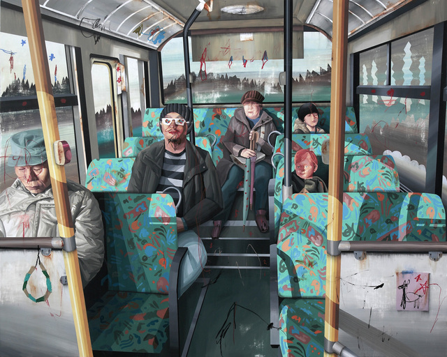 , 'Hong Kong x Japan. C  -  Bus Ride,' 2014, Art Experience Gallery