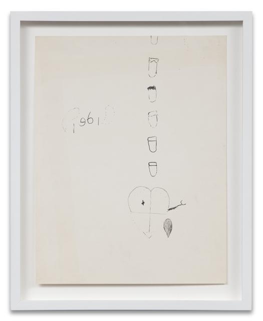 , 'Bomb Drawing 3,' 1961, Kohn Gallery