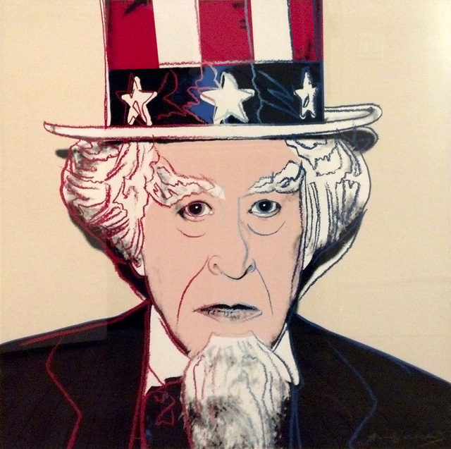Andy Warhol, 'Uncle Sam', 1981, David Benrimon Fine Art