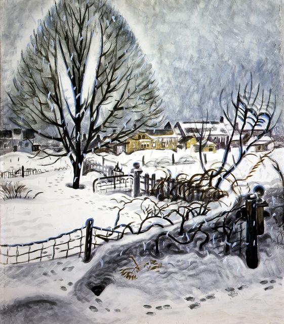 , 'Day in Midwinter,' 1945, Montclair Art Museum
