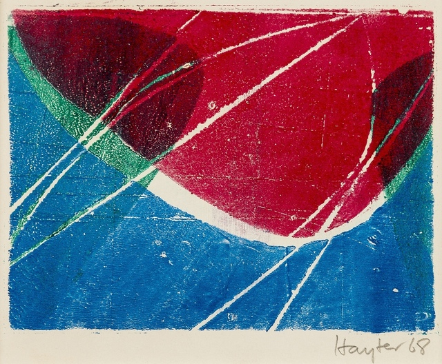 Stanley William Hayter, 'Untitled greeting card for 1968-9 (Black & Moorehead 326)', 1968/9, Forum Auctions