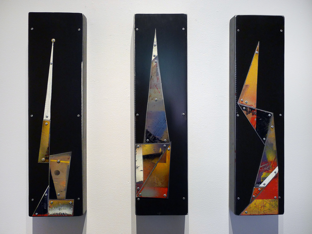 , 'Whitepoint (Triptych),' , Gail Severn Gallery
