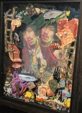 Paul Horn, 'Visions of Jimi Hendrix in the Bottom of My Fish Tank', 2018, Deborah Colton Gallery