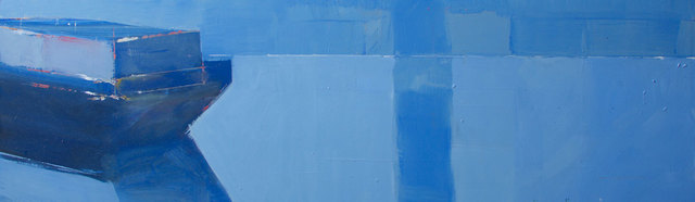 , 'Blue Barge,' 2012, Albemarle Gallery | Pontone Gallery