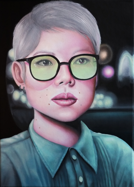 Alannah Farrell, '2nd Street (Mae Green Glasses)', 2019, The Painting Center