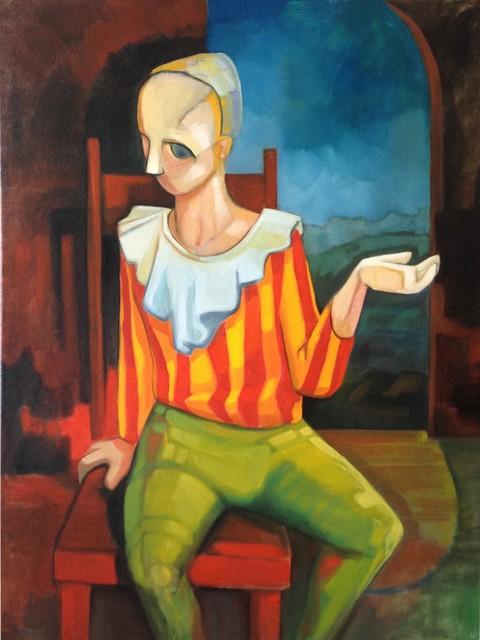 , 'Boy with striped shirt,' 2013, Wentworth Galleries