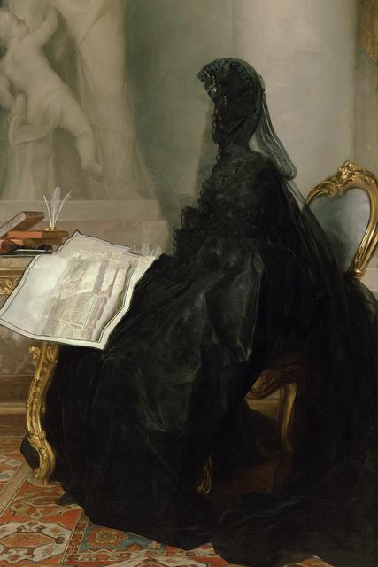 , 'Caput # 14 / 6201, based on KAISERIN MARIA THERESIA (1717–1780) by Anton von Maron, 1773,' 2018, Galerie Reinthaler