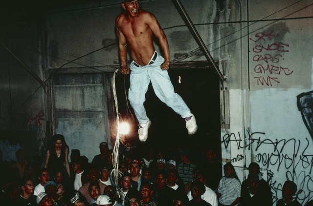 ", '""Free Sex"" Party Crew Party, East Los Angeles,' 1993, J. Paul Getty Museum"