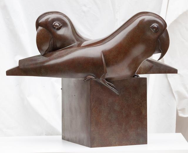 , 'Lovebirds,' 2017, Galerie Dumonteil