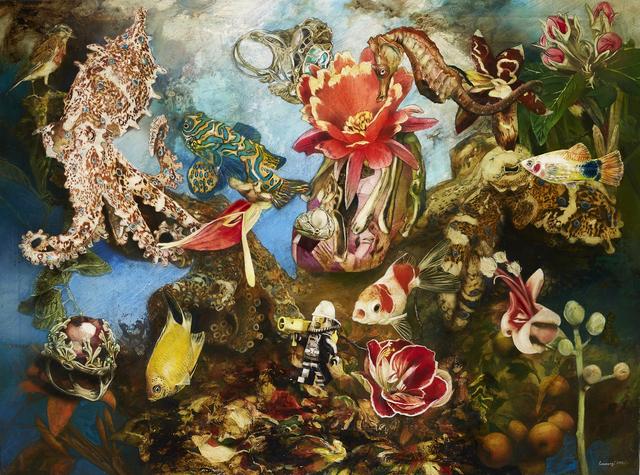 , 'Underwater Firefighter,' 2019, Villa del Arte Galleries
