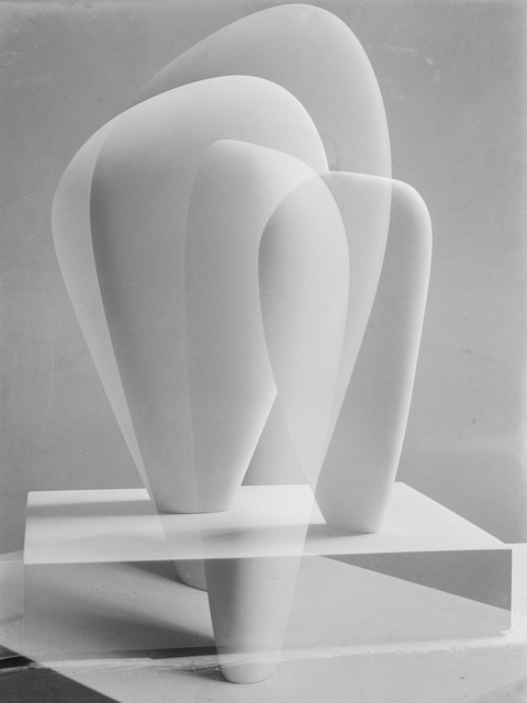 Barbara Hepworth, 'Double Exposure of Two Forms', 1937, Tate Britain