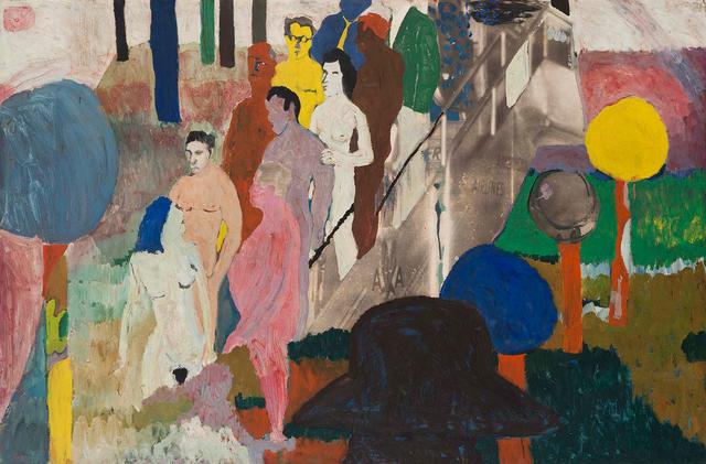 , 'Stairway to the Stars,' ca. 1962, Michael Rosenfeld Gallery
