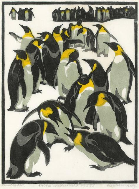, 'Emperor Penguins,' 1926, Galerie Bei Der Albertina Zetter